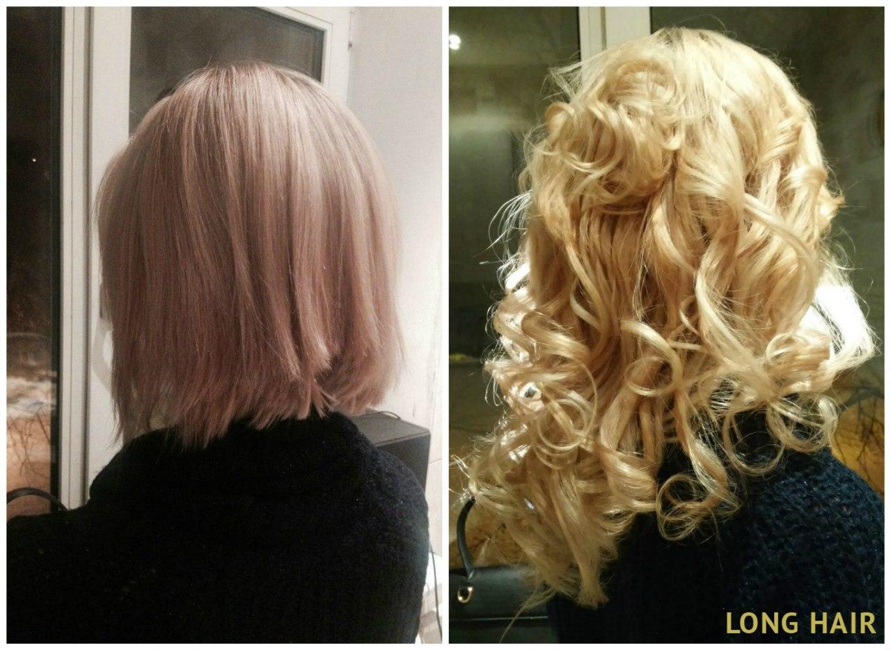Наращивание волос недорого в спб