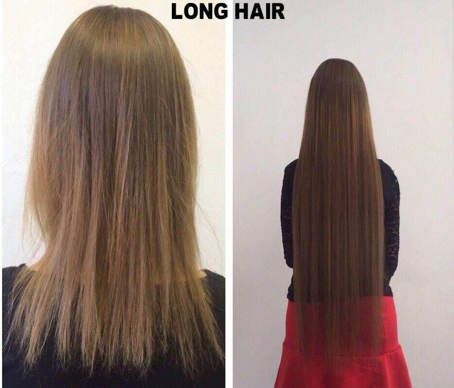 Смотреть наращивание волос фото